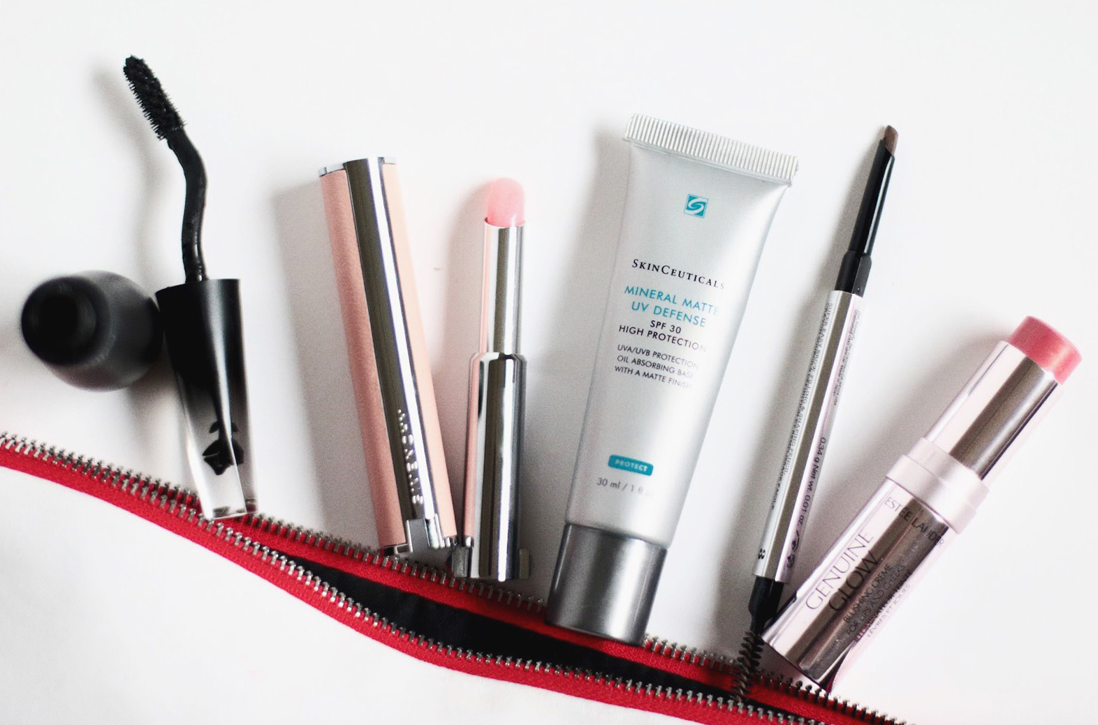 maquillate teint week end skinceuticals mineral matte UV defense givenchy rouge perfecto