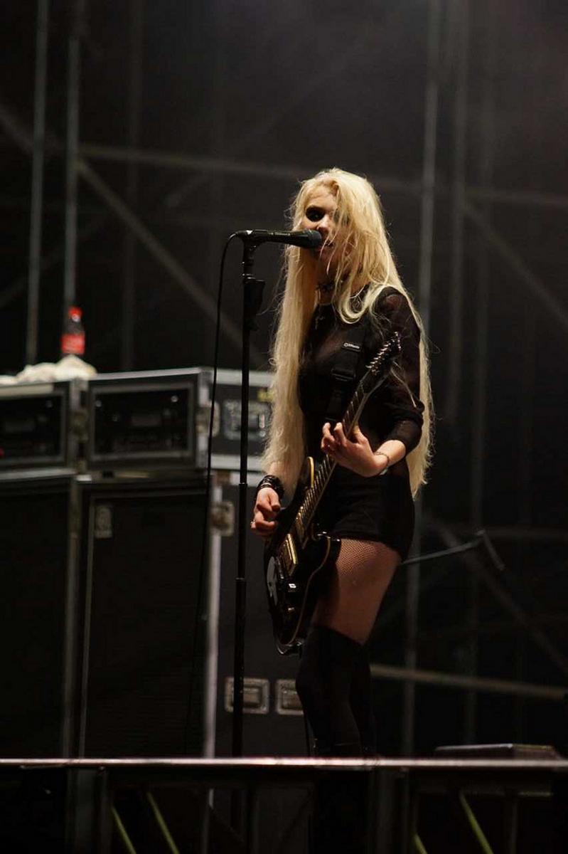 Taylor Momsen Sexy Ass Peformance In China Disney Star