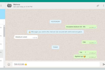 Cara Mudah Whatsapp-an di PC TANPA Emulator Android