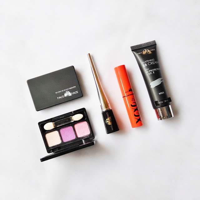 Produk Face 2 Face Cosmetics Lengkap