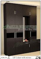 Lemari pakaian minimalis cabinet unit up
