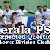 Kerala PSC Model Questions for LD Clerk - 36