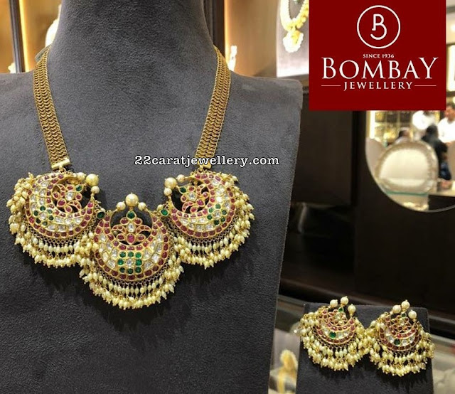 Kundan Choker by Bombay Jewellers