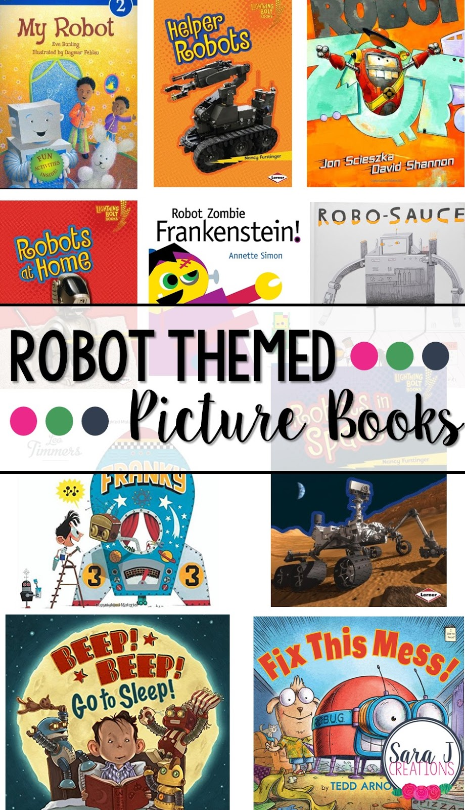 Fun robot books for kids