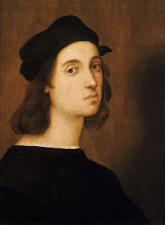 Raphael's self-portrait, believed to have been painted in 1506, when he was 23