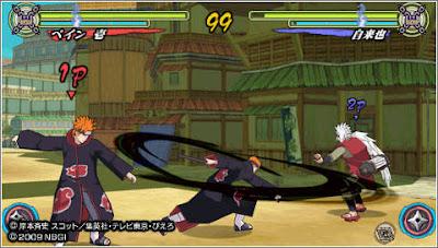 Naruto Narutimate Accel 3 PSP Android Apk Terbaru