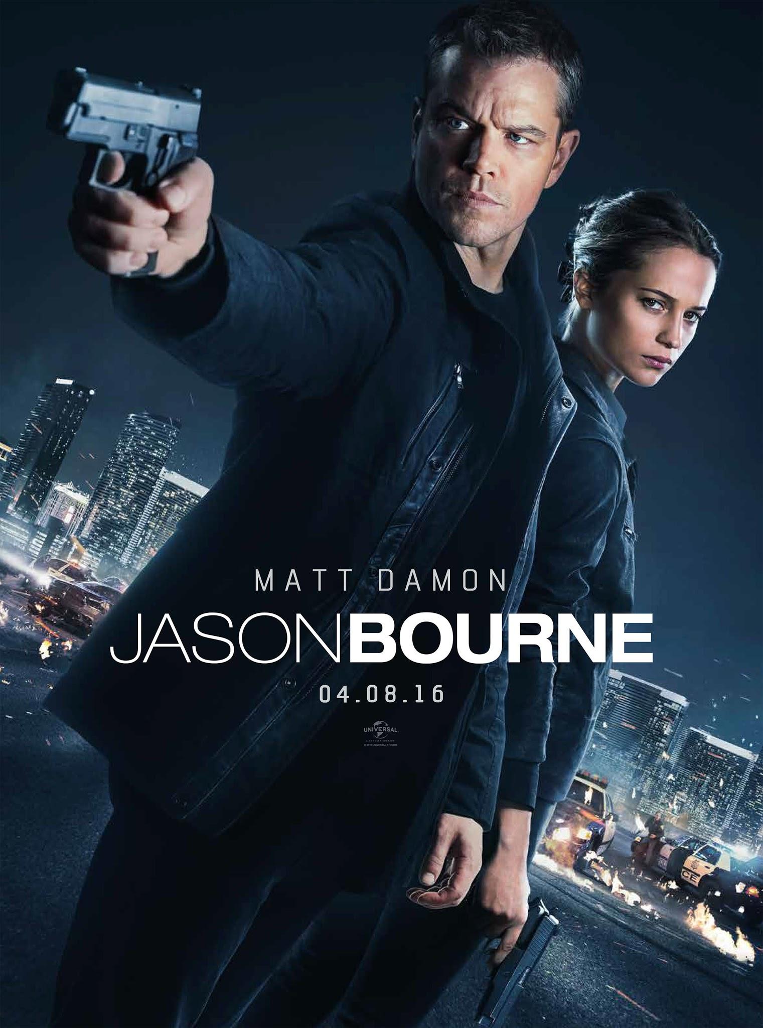 Ver Jason Bourne Online (2016) Gratis HD Pelicula Completa
