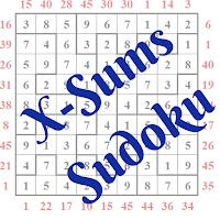 X-Sums Sudoku