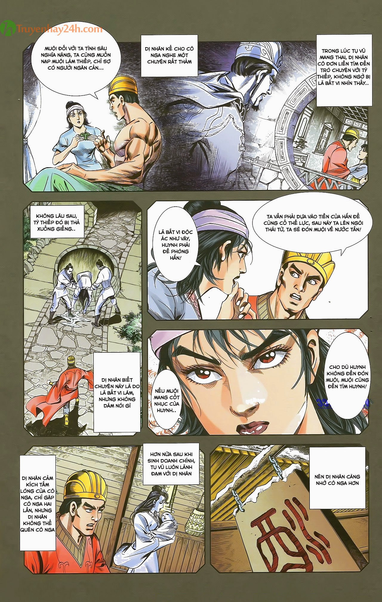 Tần Vương Doanh Chính chapter 29.2 trang 3