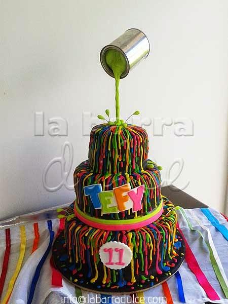 Pasteles Decorados Personalizados Con Fondant En Guatemala La - Fotos-de-pasteles-decorados