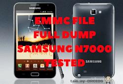 Full Dump Emmc File Samsung Note 2 (N7100) Fix Baseband Null Tested