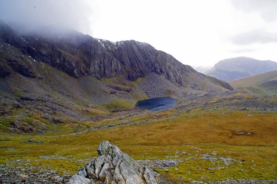 Snowdonia Mountain Range and Mt Snowdon Wales