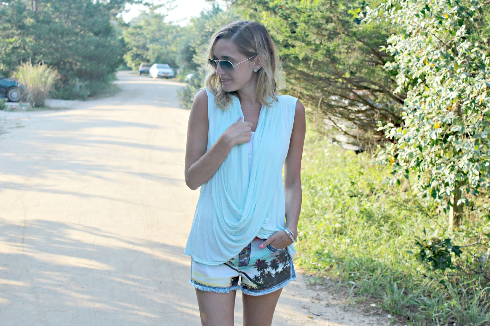harmony & havoc denim shorts