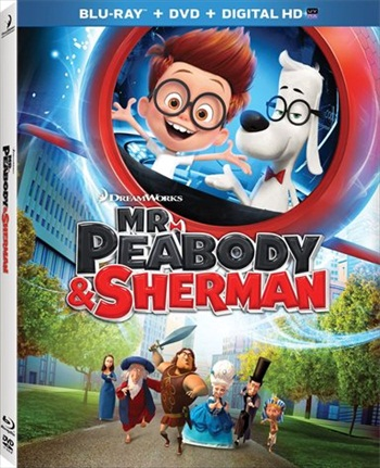 Mr. Peabody & Sherman 2014 Dual Audio Hindi 720p BluRay 750mb
