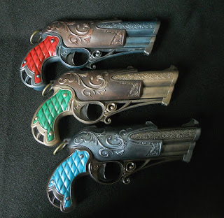 steampunk nerf rebelle charmed dauntless blaster