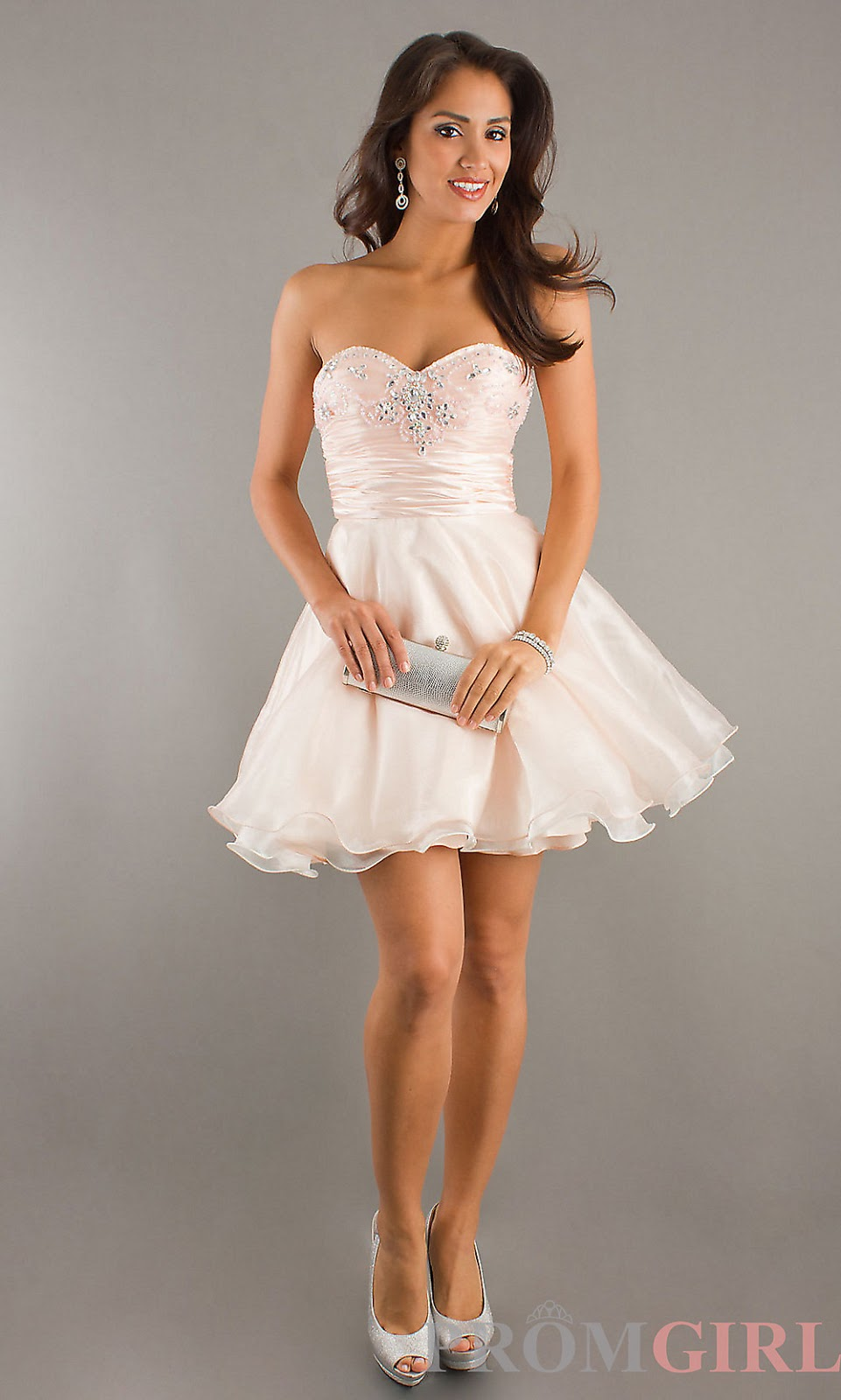 White Short Formal Dresses 2014 - Gallery Fusion
