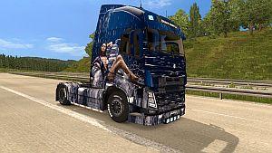 Catrinel Menghia skin for Volvo 2012 & 2013