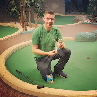 Richard Gottfried - Paradise Island Adventure Golf Open Champion at the Trafford Centre venue in Manchester