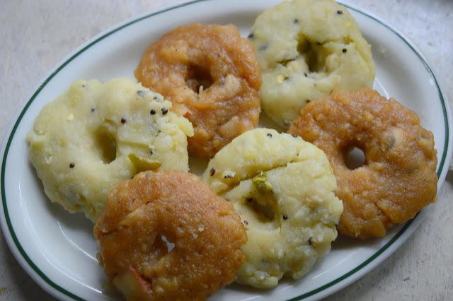 Karadaiyan Noombu adai- sweet &savory version