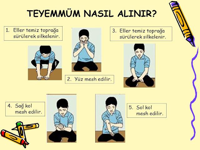 Teyemmüm Abdesti Nasil Alinir