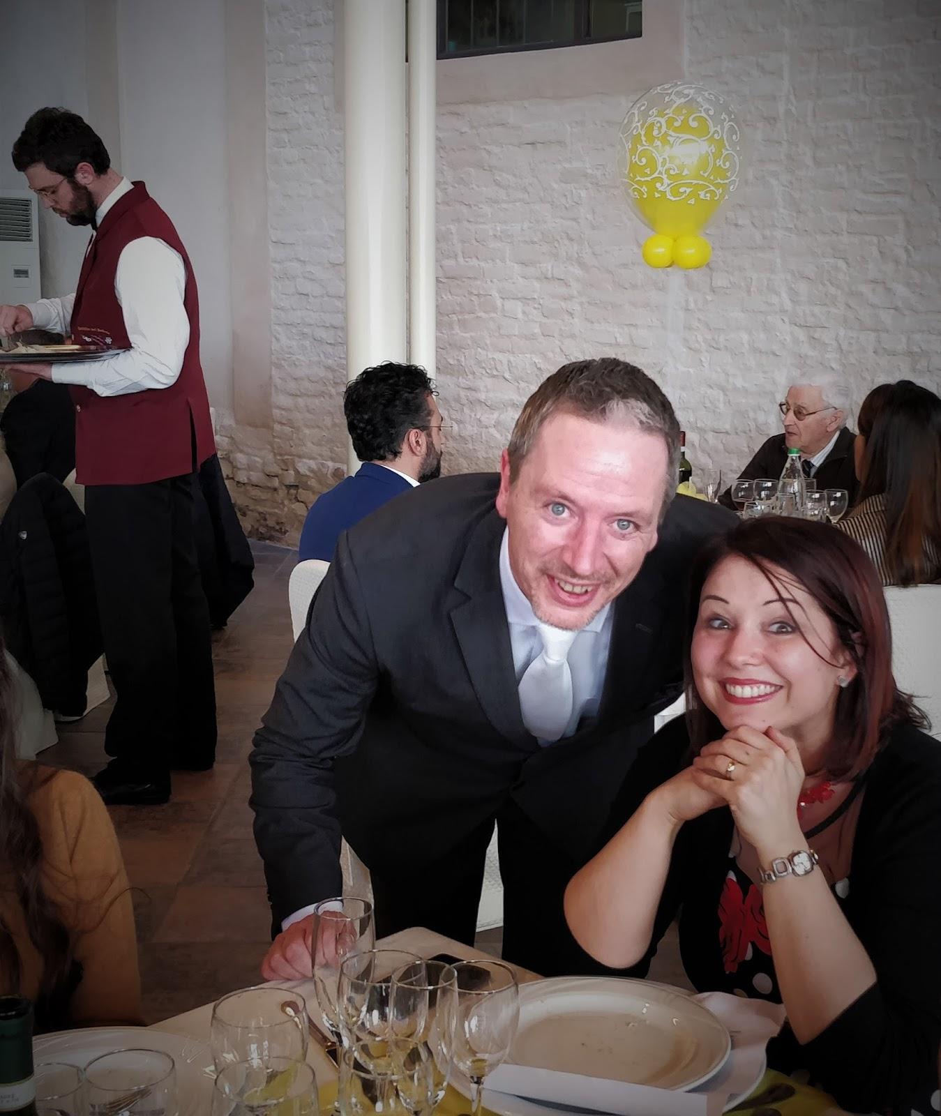 Marianna al tavolo con Fabio Boselli - Maître e Direttore di Sala