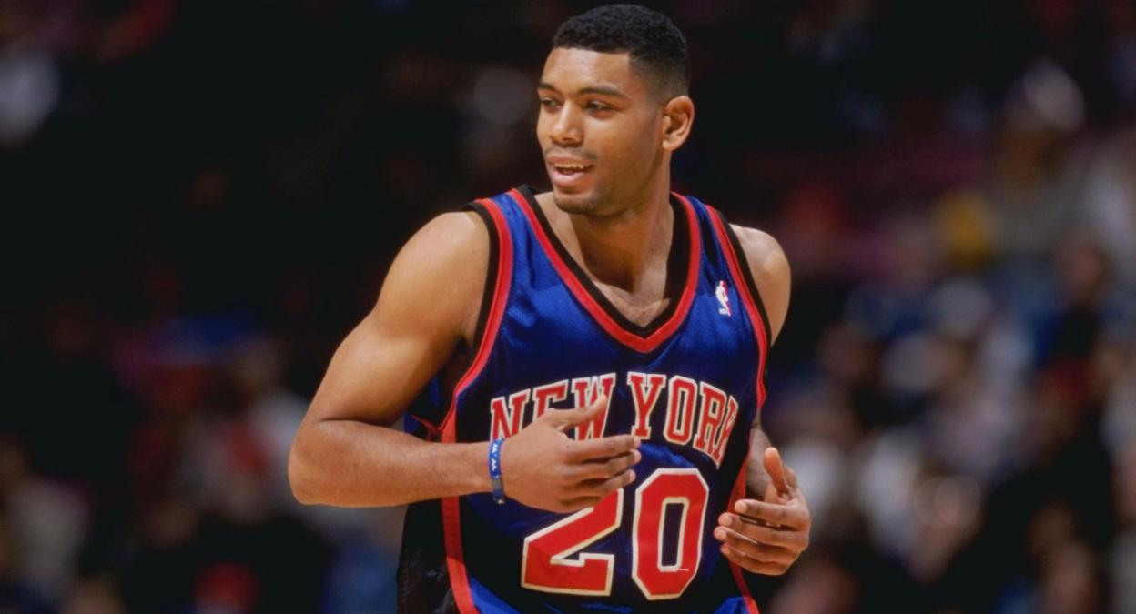 low priced 71f4b fe799 Virgil's Blog: New York Knicks x Allan Houston [1997-05]