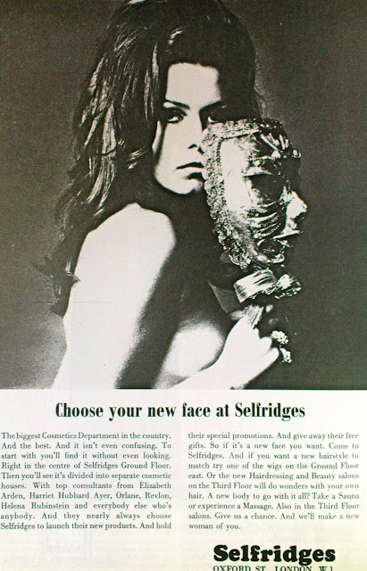 Vintage 1960s Selfridges advert