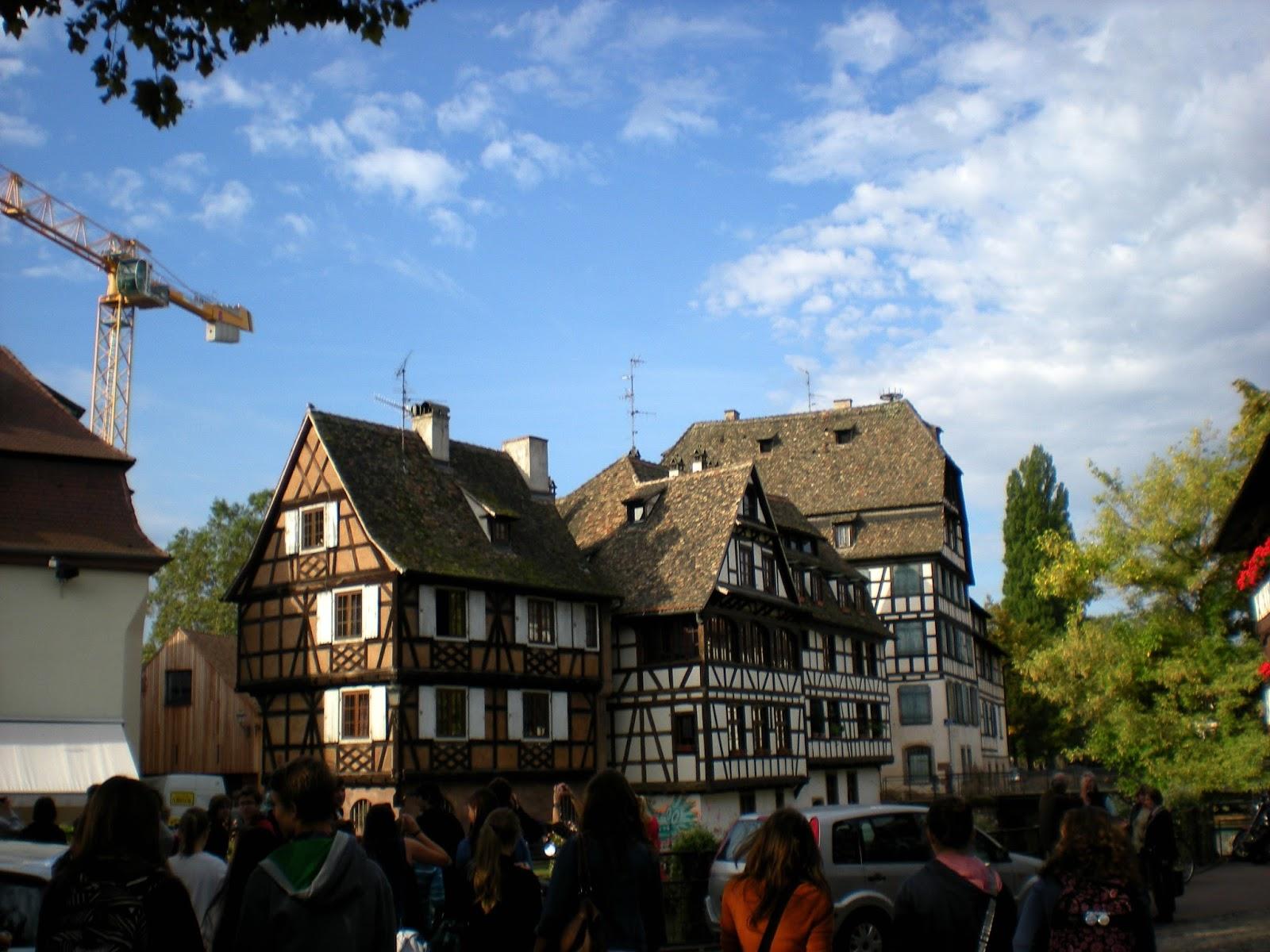 Francouzské tradiční domky