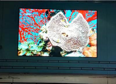 Lắp đặt thi công màn hình led p5 module led trong nhà tại Bình Phước