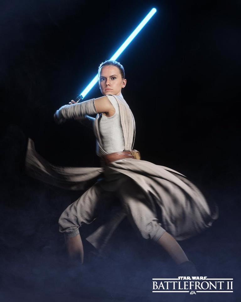Rey is having a nice time. : StarWarsBattlefront