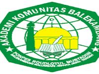 PENDAFTARAN MAHASISWA BARU (AKB-BALEKAMBANG) 2019-2020