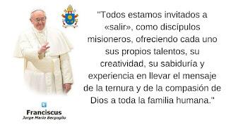 DOMUND, misiones, papa Francisco