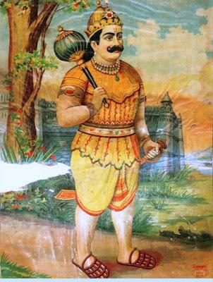 Bhimasena By Raja Ravi Varma