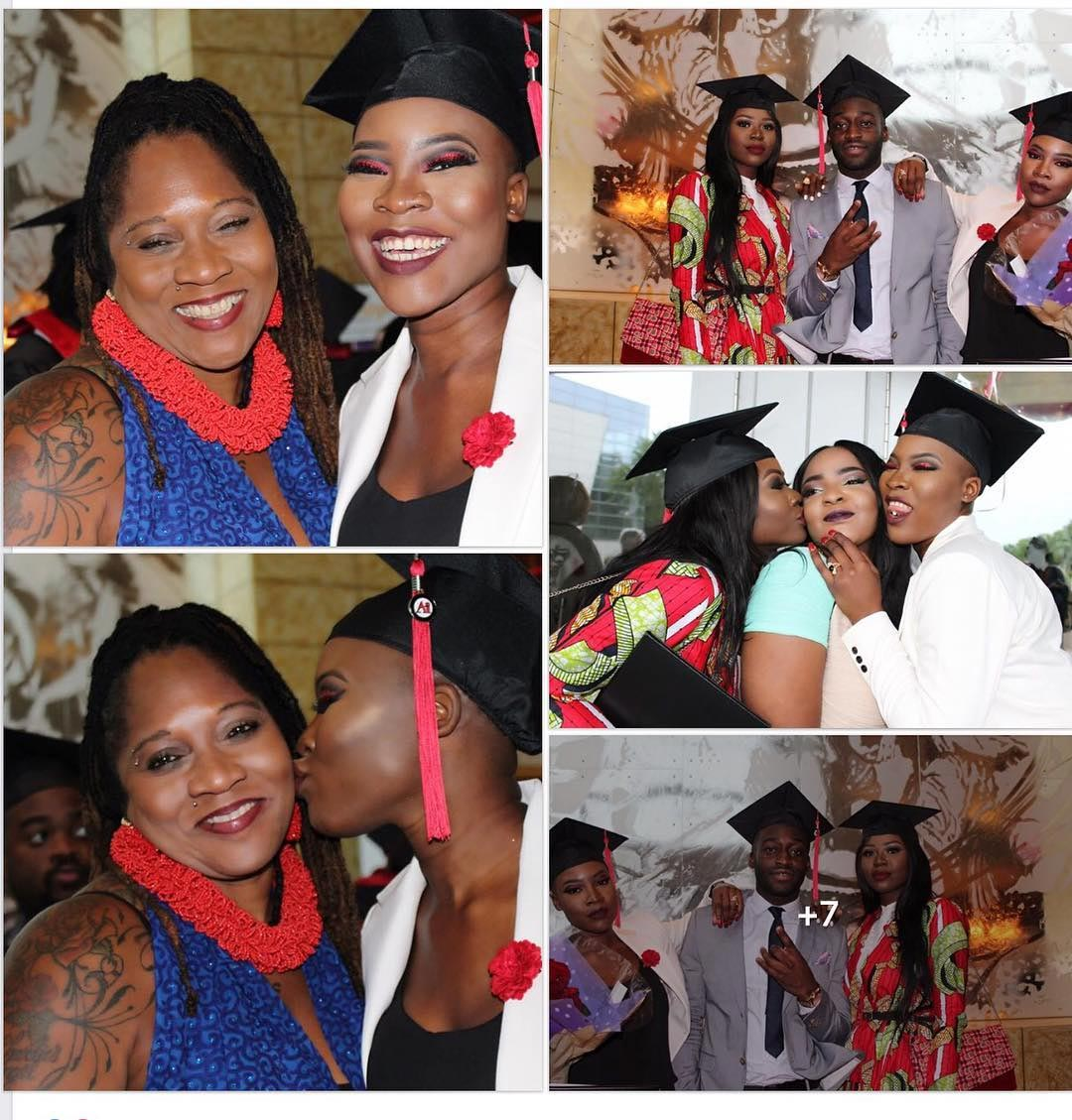 Charley Boy's daughter Dewy Oputa bags Arts degree