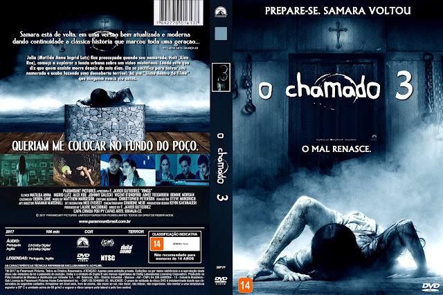Capa DVD O Chamado 3