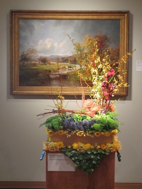 Bouquets to Art Exhibition, de Young Museum, San Francisco, 2016
