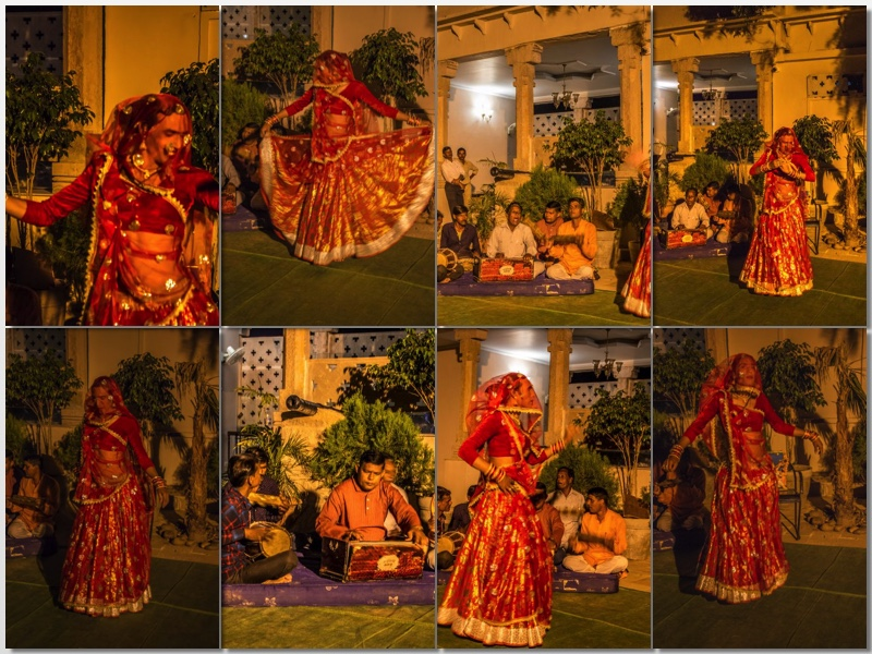Folk songs and Folk dance of Bundelkhand at Hotel Kila Kothi Chanderi