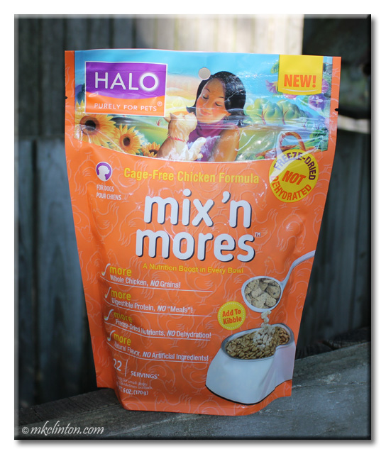 Halo mix 'n mores cage-free chicken