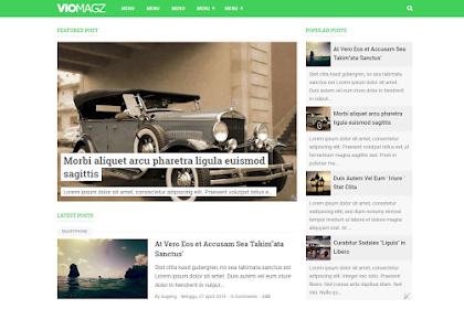 3 Template Blogger paling populer, seo friendly dan responsif