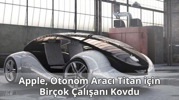 Apple Titan Otonom Aracı