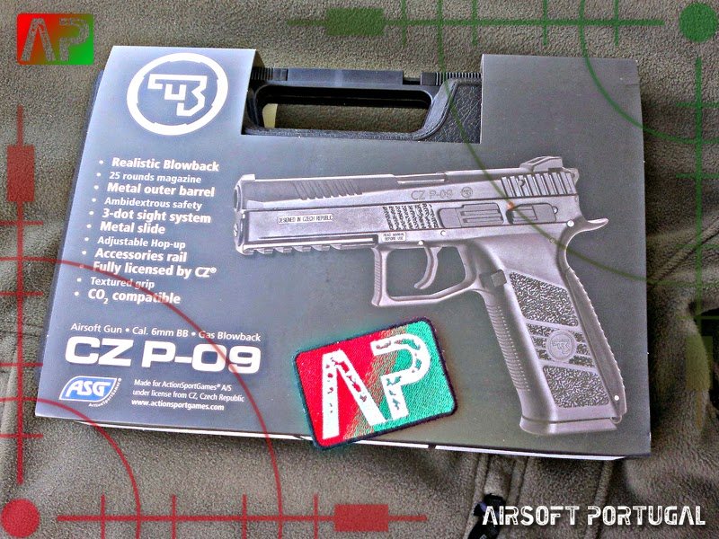 Airsoft Portugal: Review: ASG CZ P-09
