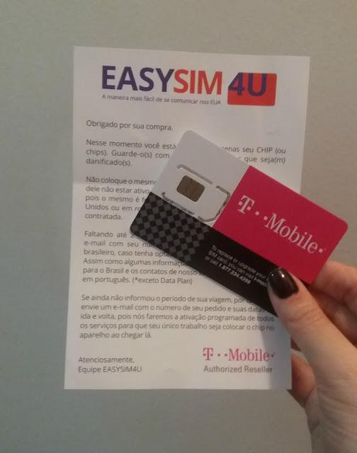 Chip de internet no Canadá da Easysim4u