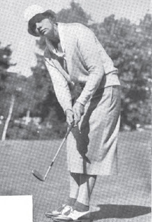 Golfer Virginia Van Wie