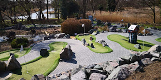 Jiggers Miniature Golf at Thorpeness Golf Club & Hotel. Photo by Christopher Gottfried, 31 March 2019