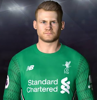 PES 2017 Faces Simon Mignolet by Facemaker Ahmed El Shenawy