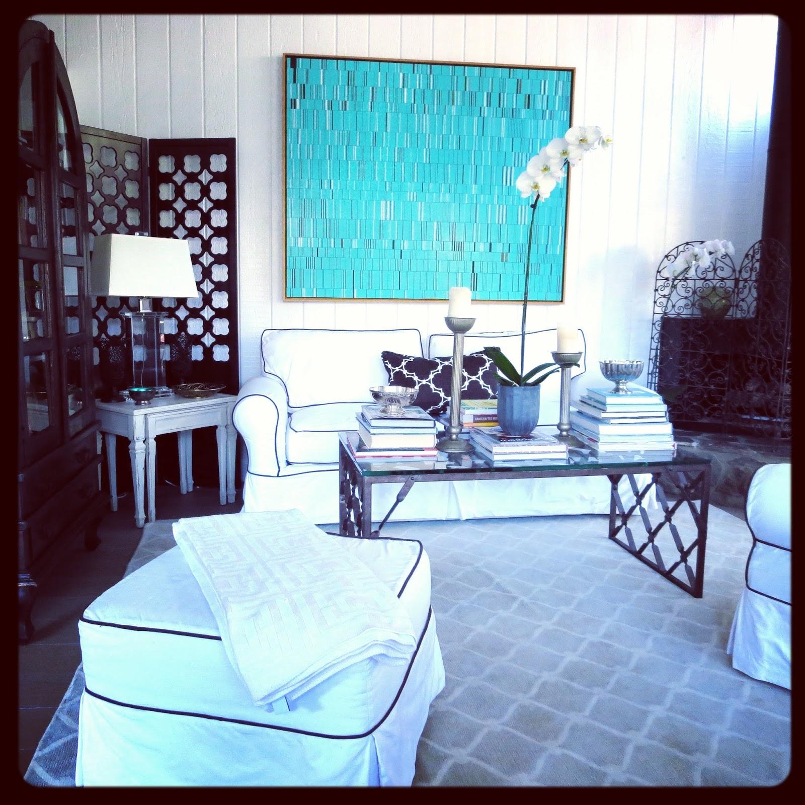 Turquoise Room: ARTIST BRIAN WILLS & MY LIVING ROOM ART