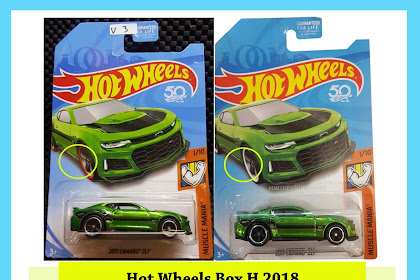 Bocoran Hot Wheels Box H 2018 (Super Camaro)