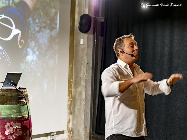 Iñaki Murillo , Bodegas Murillo Viteri en Turistopia 2018 - Bilbao por El Guisante Verde Project