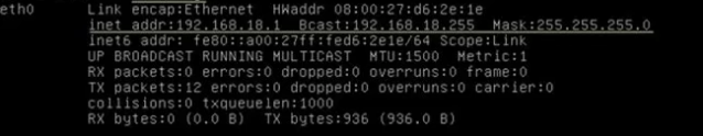 Cek Konfigurasi IP