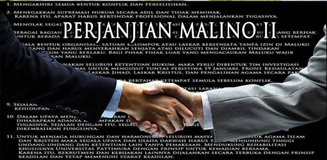 Perjanjian Malino yang dibuat para tokoh masyarakat Maluku pasca konflik kemanusiaan tahun 1999 tidak mengisyaratkan periodisasi jabatan kepala daerah bagi seorang gubernur dan wakil gubernur.